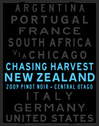 2009 Pinot Noir, Central Otaga