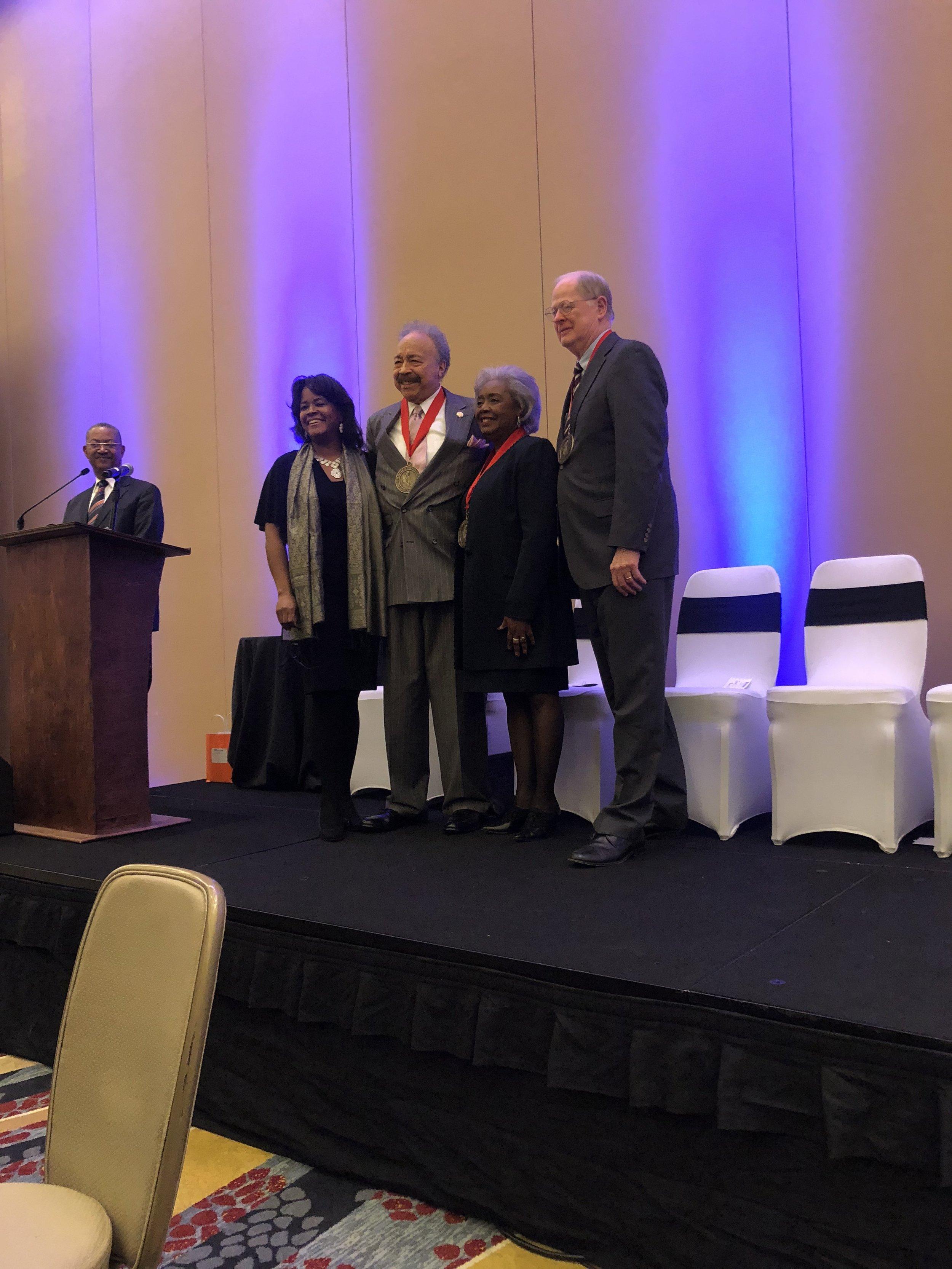 Mya Minter, Dr.Harvey, Dr.Hine, Dr.Duderstadt