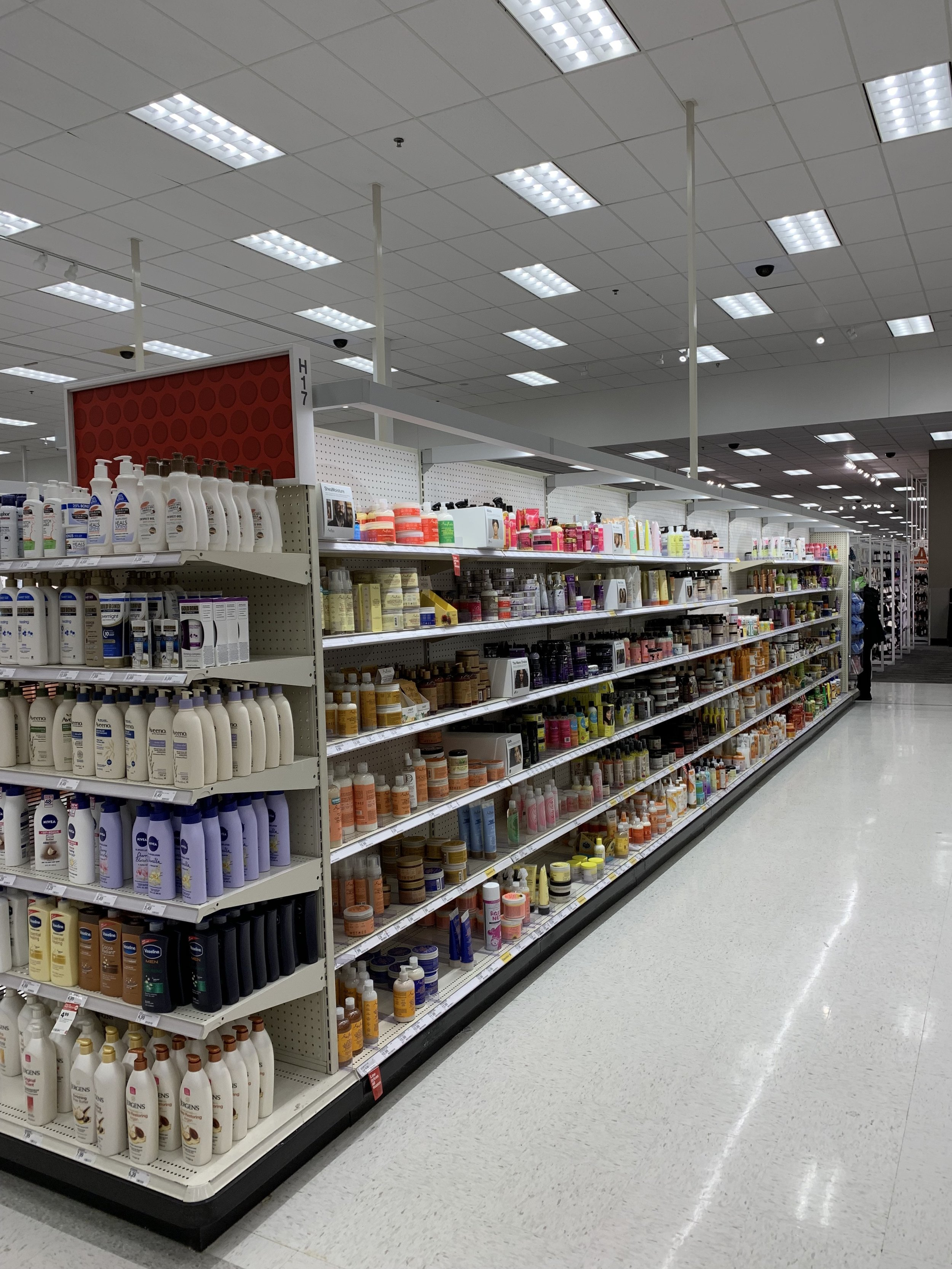 Target: African American hair products and lotion