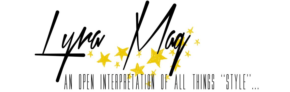 Banner Design for fashion blog Lyra Mag