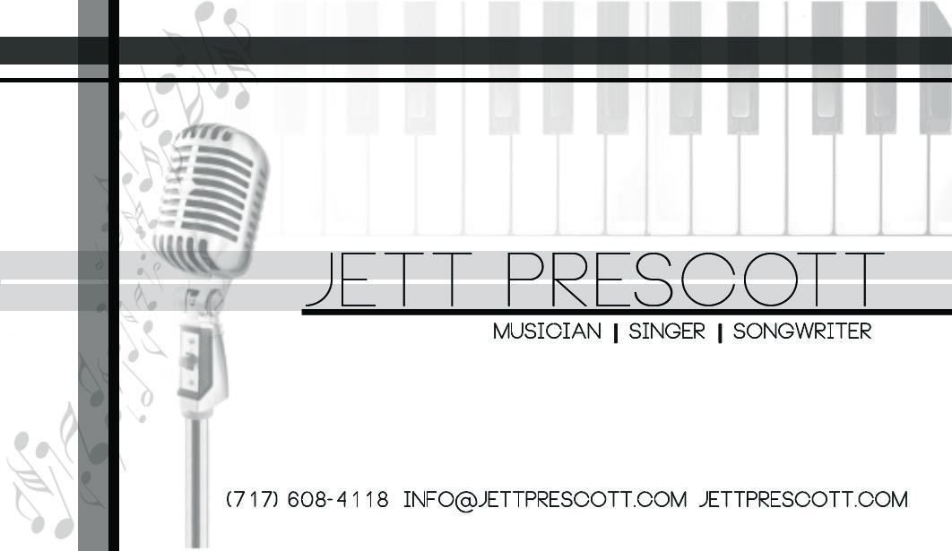 Business Card - Jett Prescott