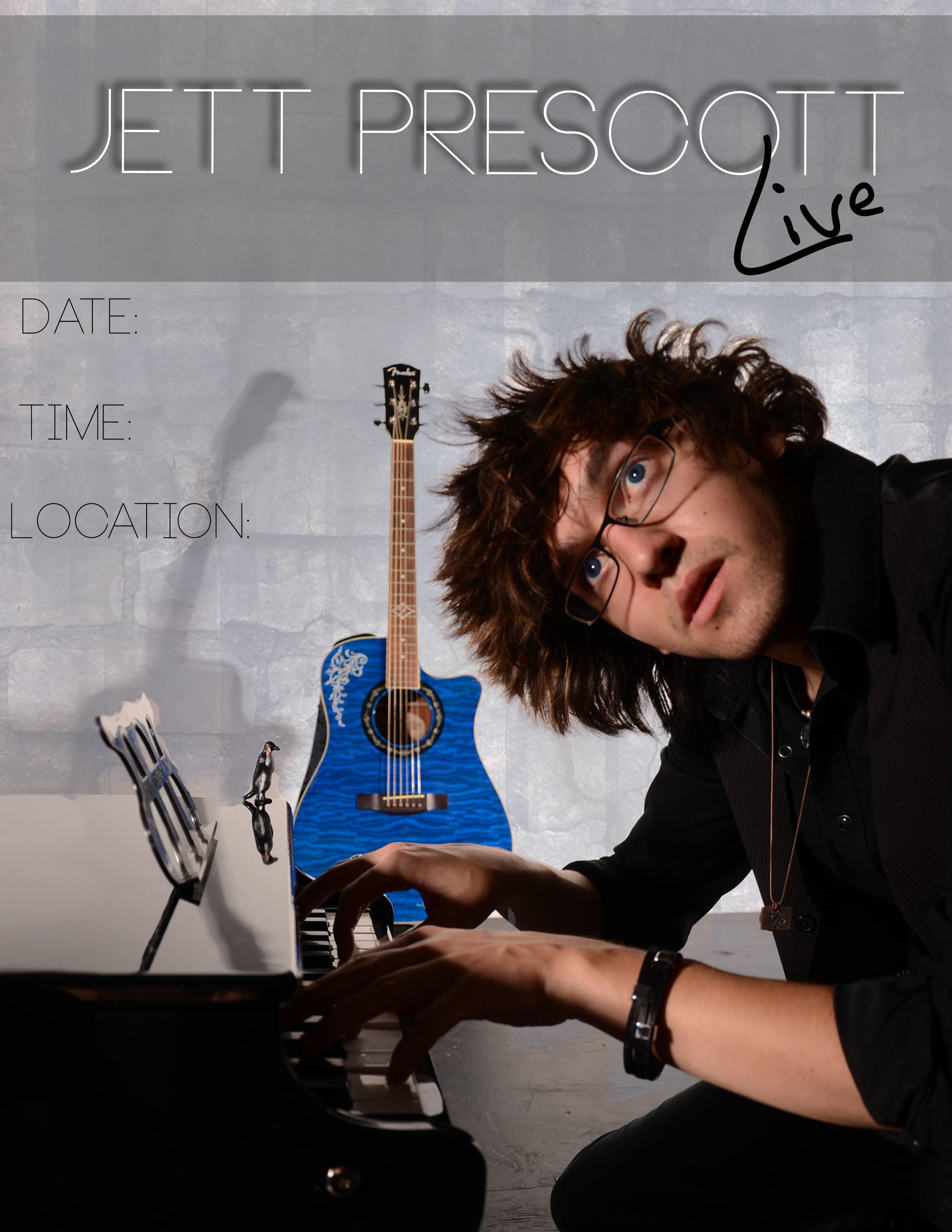 Live Show Flyer- Jett Prescott