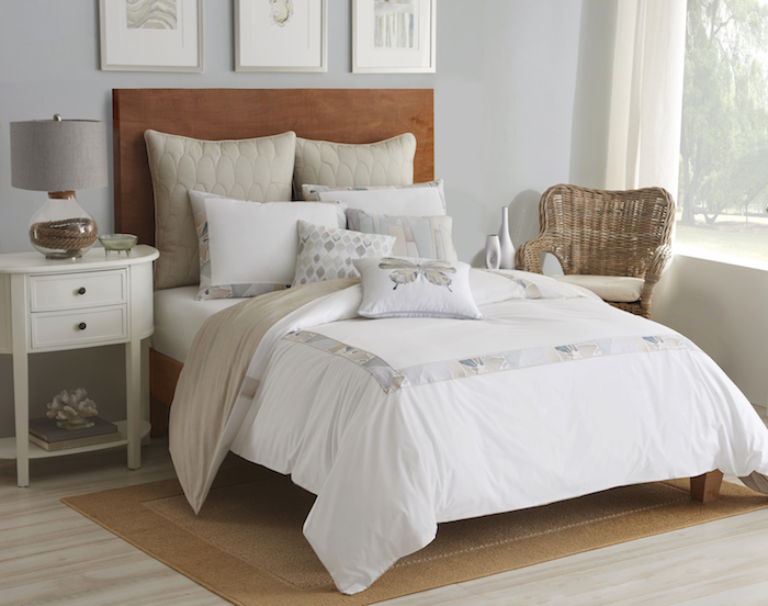 Shell Rummel Sea Glass Bedding collection