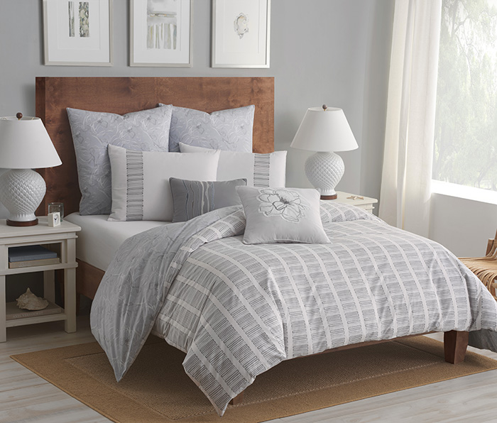 Shell Rummel Soft Repose reversible Duvet Set