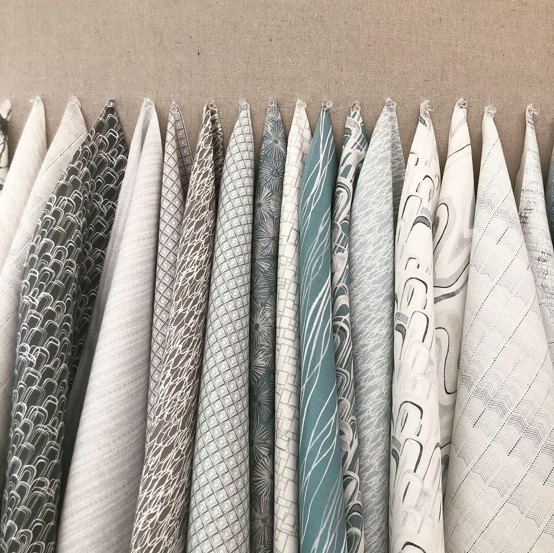 Shell Rummel studio collection fabrics