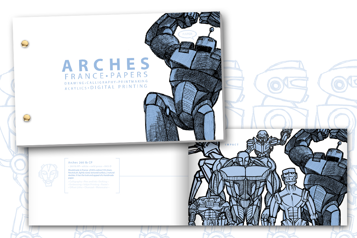 Arches Promo booklet