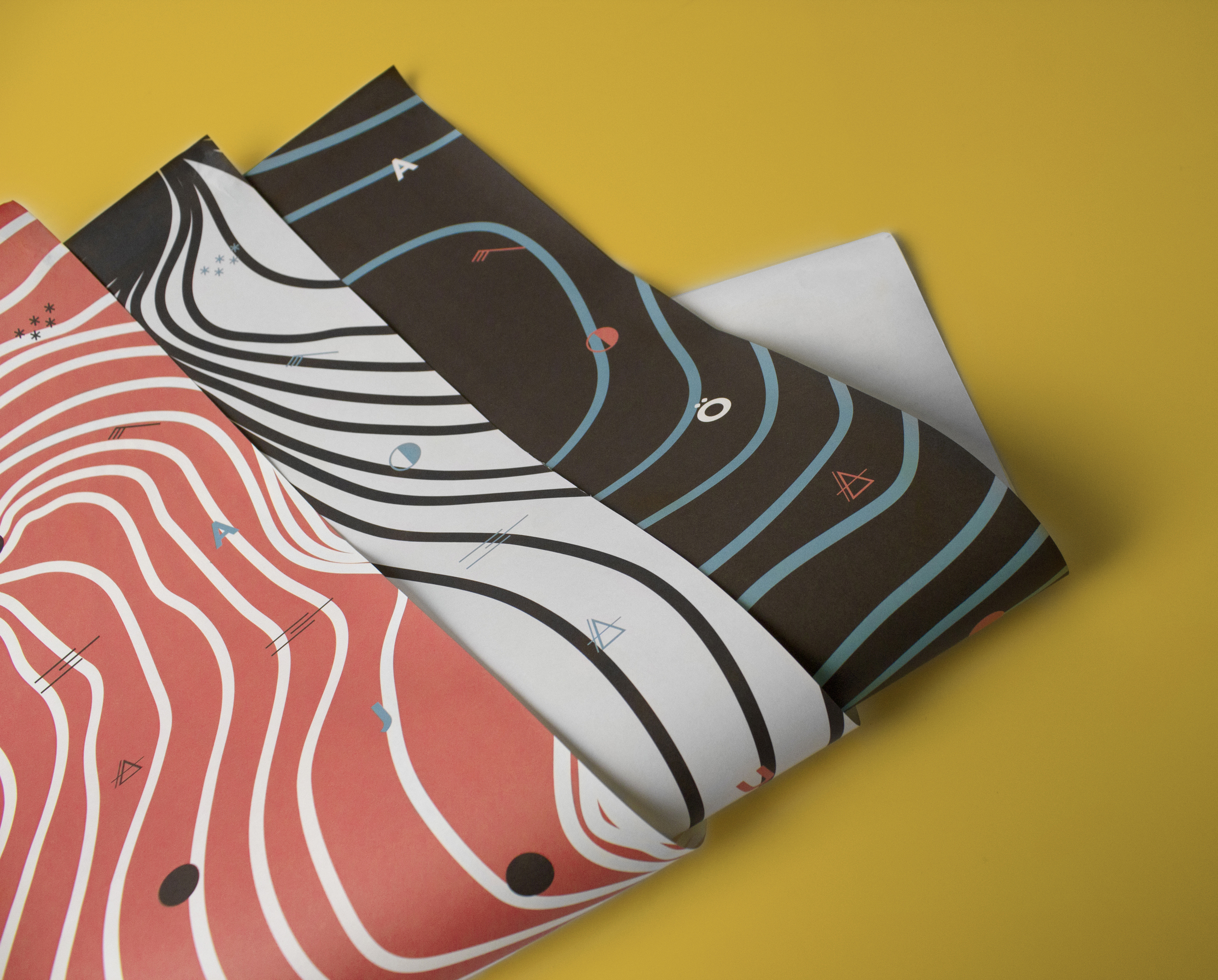 Icelandic Glaciers  Giftwrapping Paper