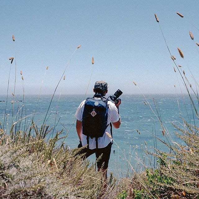 Throwback to one of the early Ruck Pack designs in Big Sur