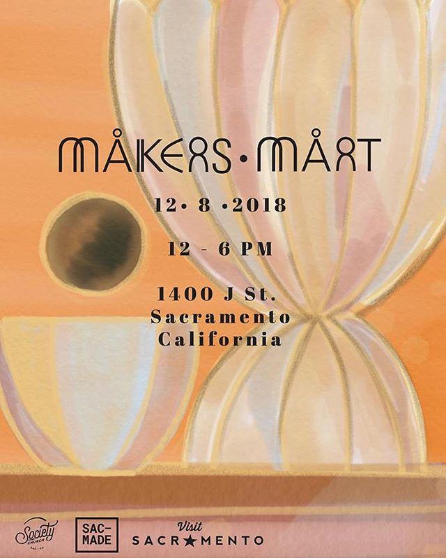 Come through! We'll be at the annual @makers_mart tomorrow! This is our only holiday popup this year! We'll have free H&F camp mugs with every bag/fanny purchase #roamwithus #visitsacramento