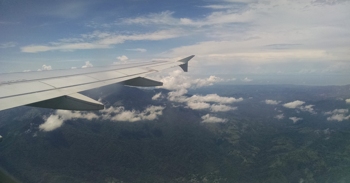 Arriving in Costa Rica