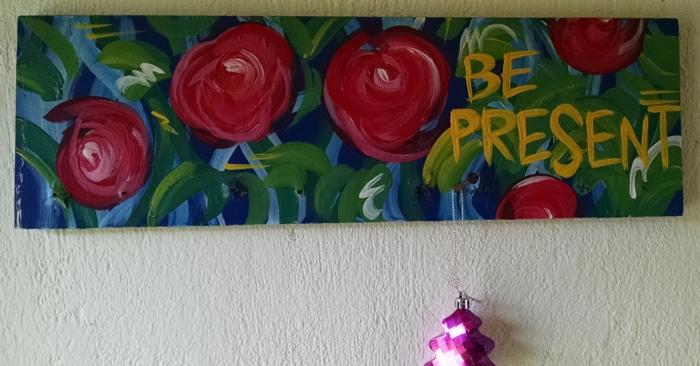 Ever-present reminder at Essence Arenal.