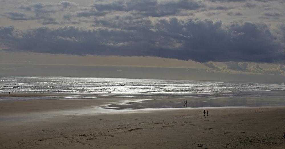 Low tide, Murwai Beach.