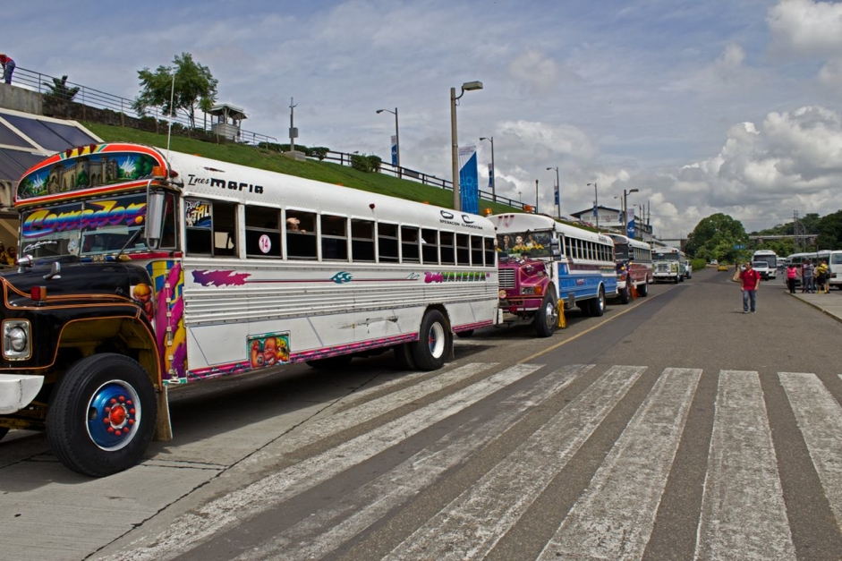 The famous buses of Panama