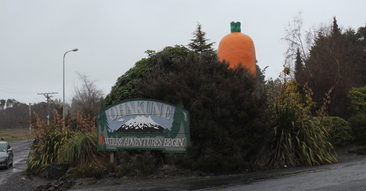 Big Carrot in Ohakune