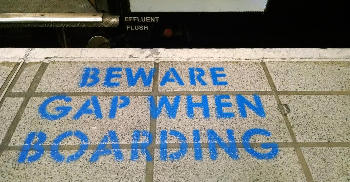Beware the Gap