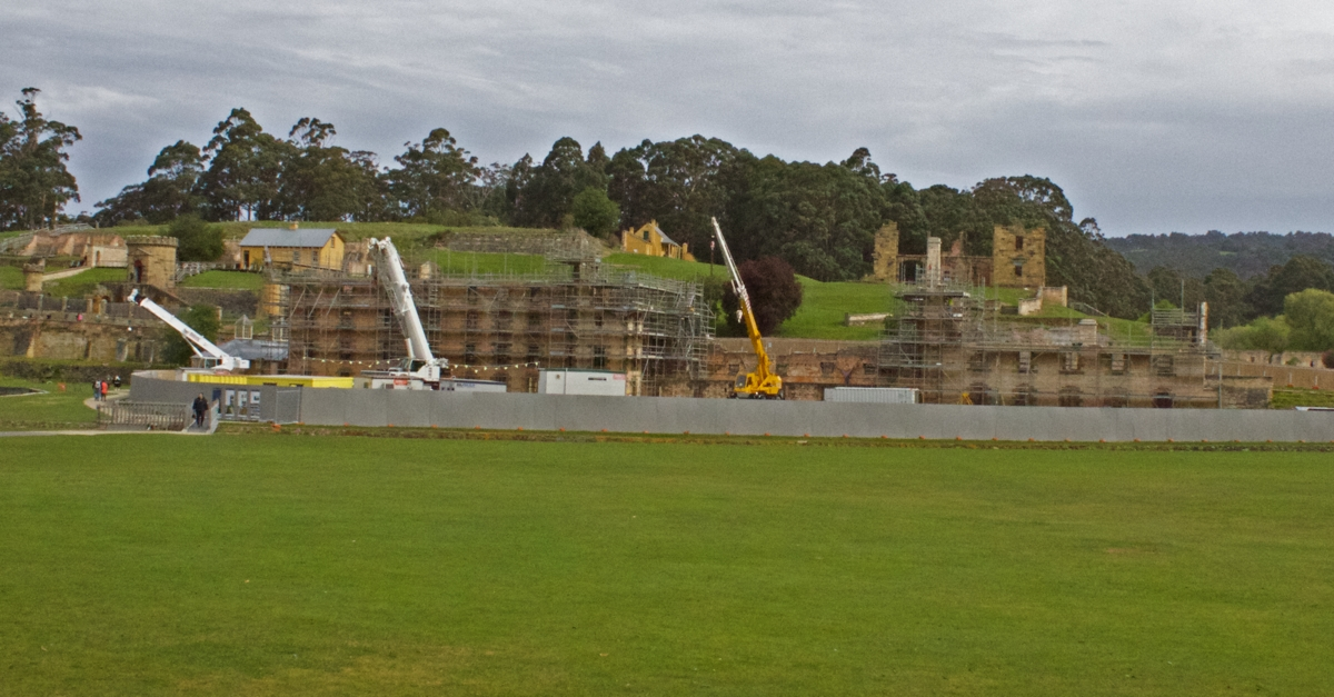 Port Arthur Renovation.