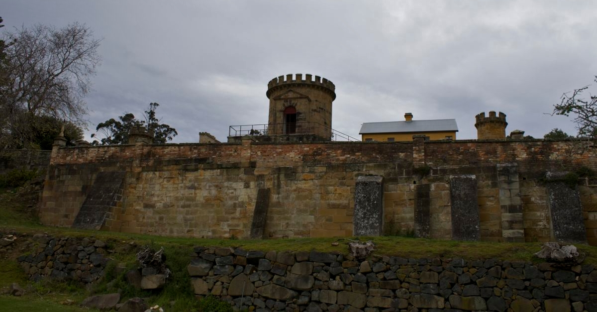 Port Arthur Guard Tower.