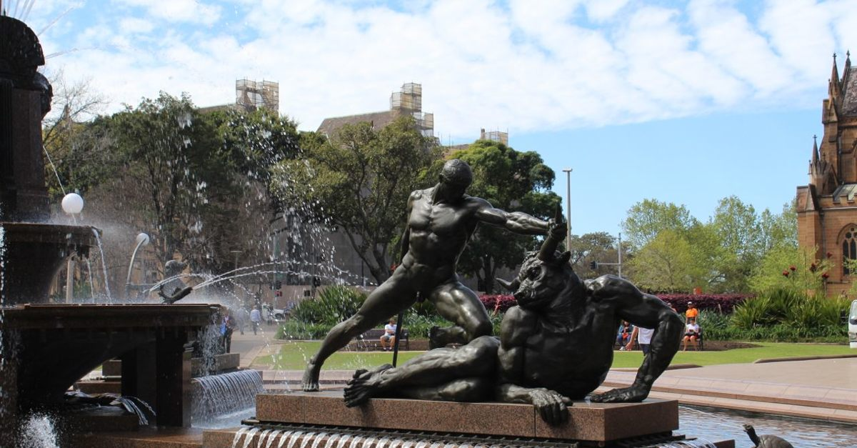 J. F. Archibald Memorial Fountain