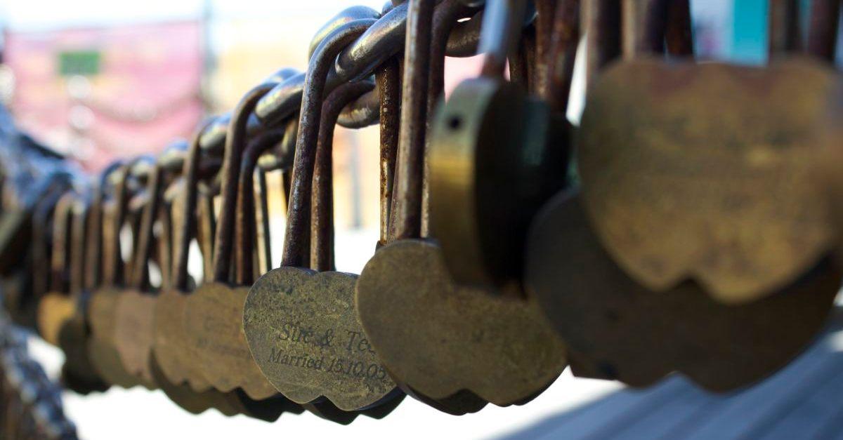 Love-locked.
