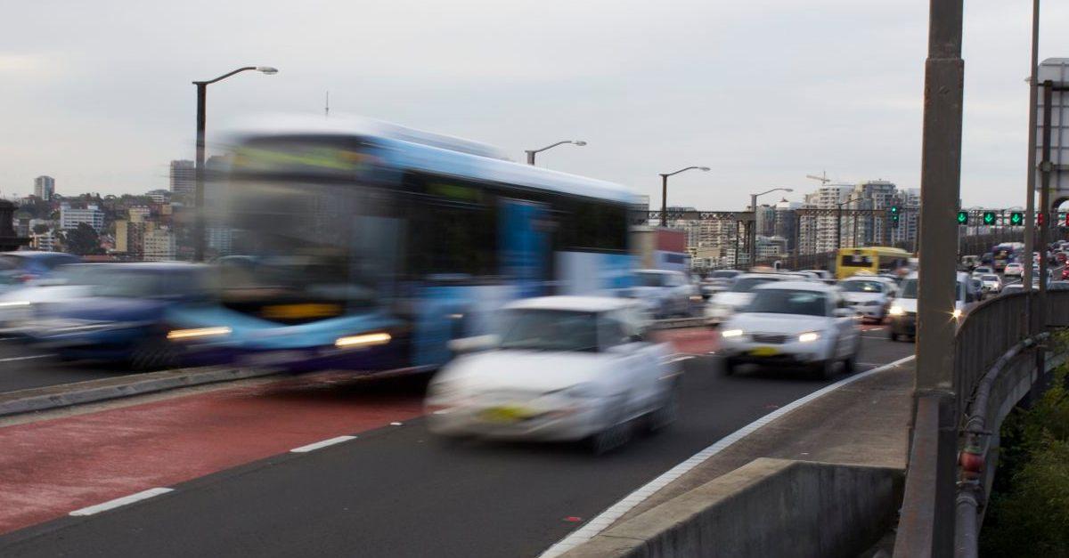 Rush Hour, Sydney Harbour Bridge