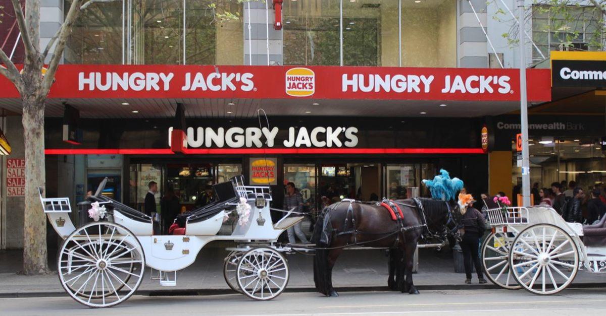 Hungry Jacks, Horses