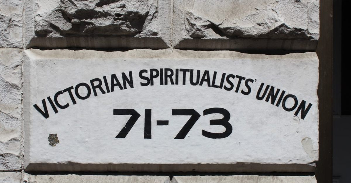 Down with the non-victorian spirtualists ...