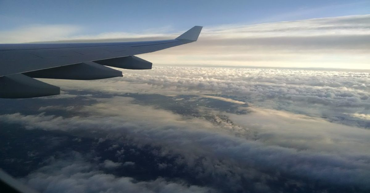 Flying to Perth