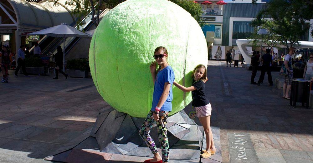 Giant Tennis Ball