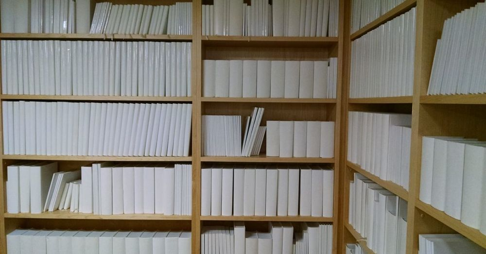 Untitled (White Library) at MONA, Detail