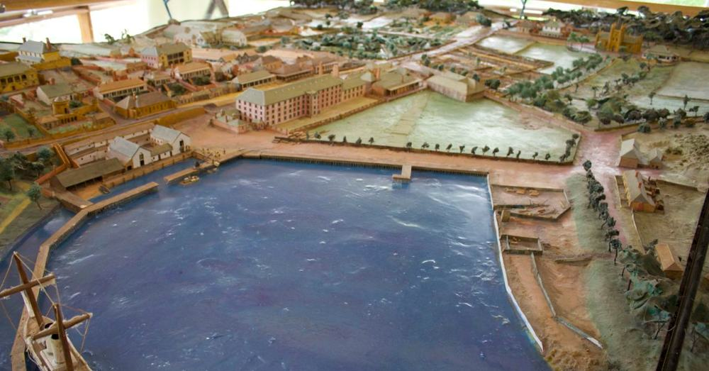 Historical Diorama of Port Arthur