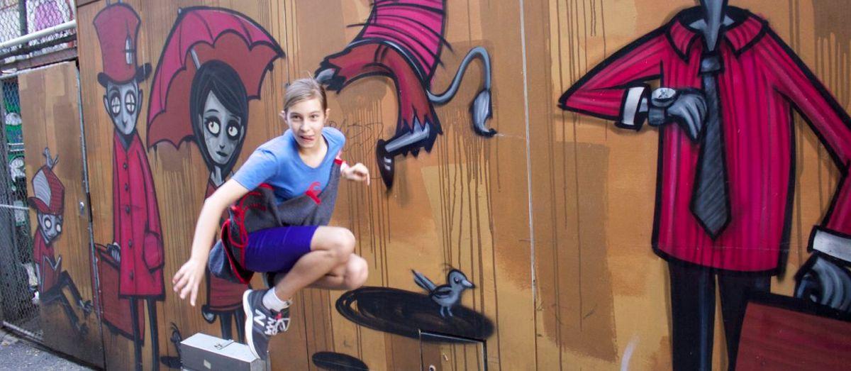 Fun with street art.
