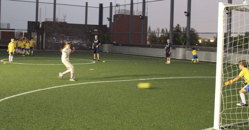 Soccer in Sai Kung I