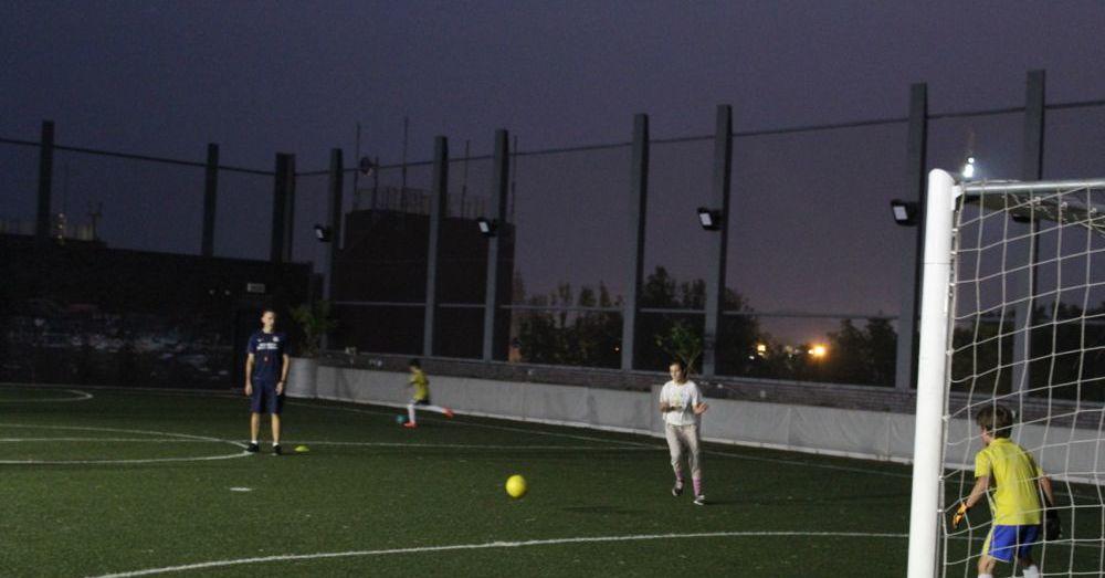 Soccer in Sai Kung II