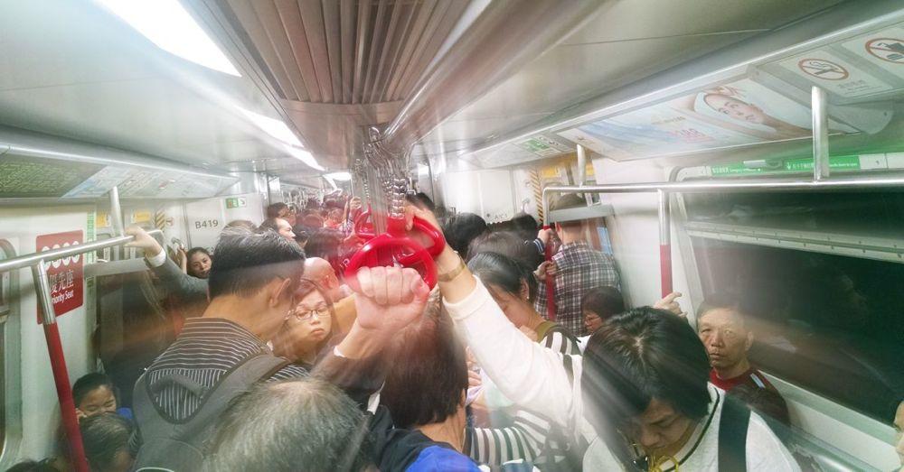 Riding the Hong Kong Subway