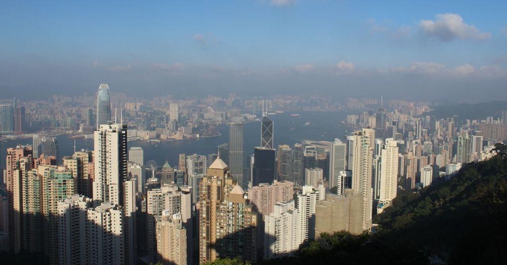 Overlooking Kowloon Bay