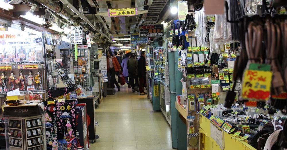 Electronics shops in Akihabara
