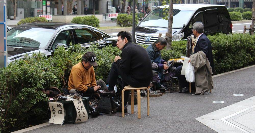 Tokyo Shoeshiner