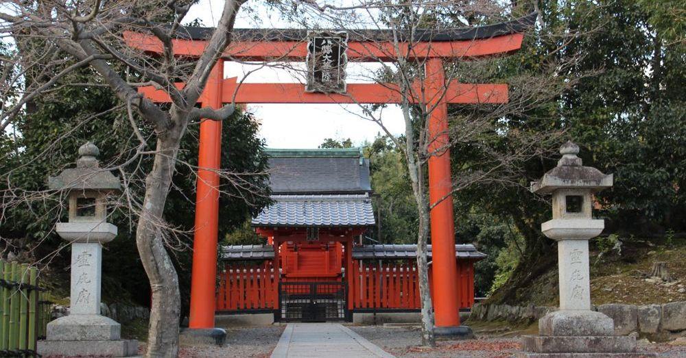 Torii at Tenryū-ji