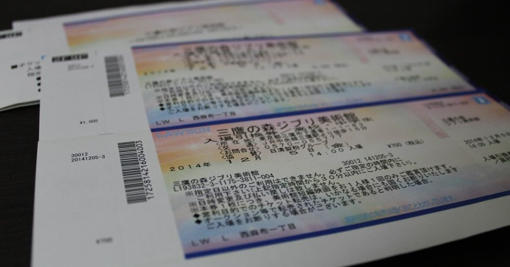 Ghibli Museum tickets turn into ...