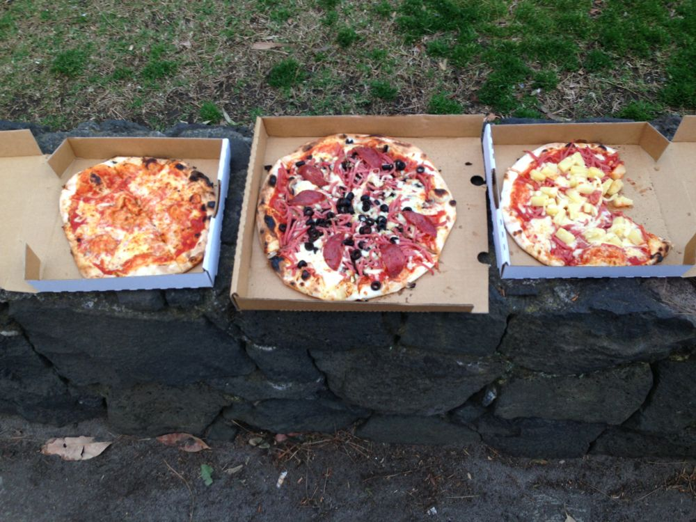 Woodfire pizza (before)