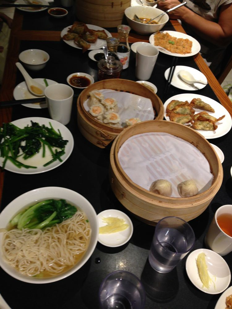 A Din Tai Fung feast