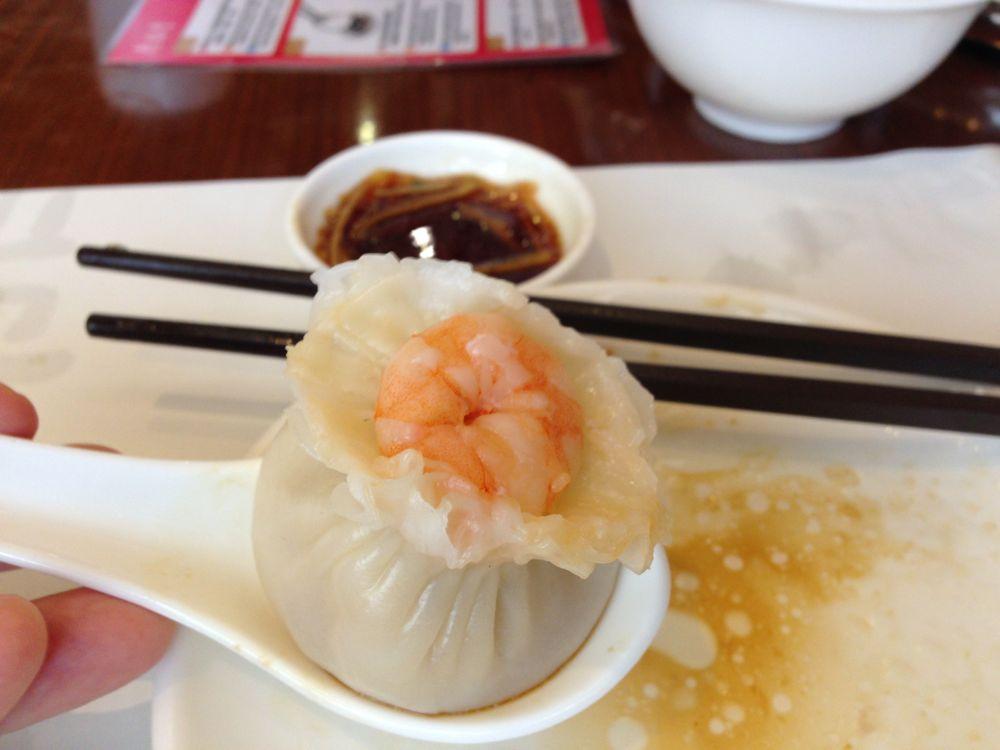 Juicy shrimp and pork shu mai