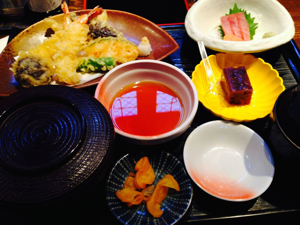 Lunch set at sumo restaurant