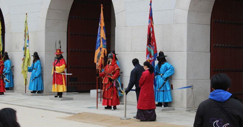 Gyeongbokgung Palace Guards