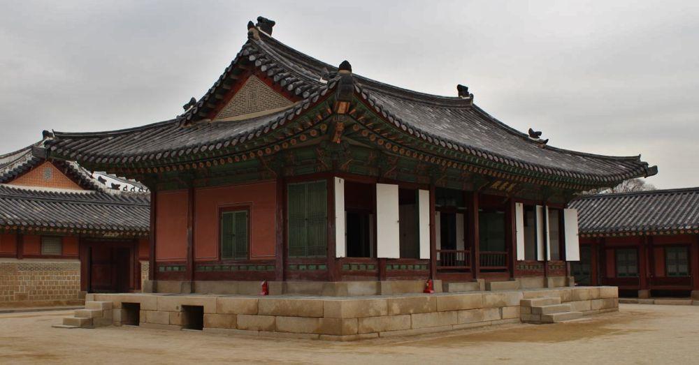 Small budiling inside Gyeongbokgung