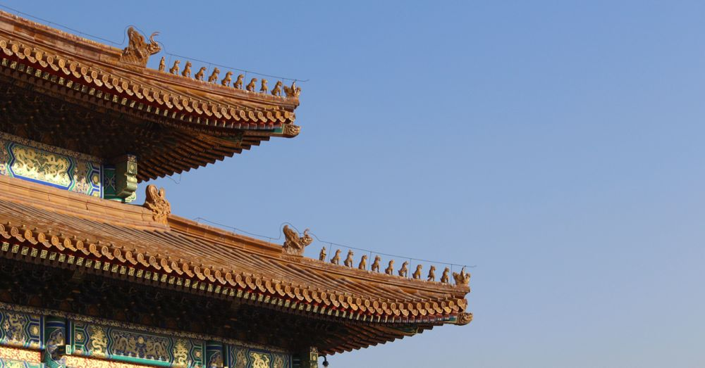Roof animals signify importance.