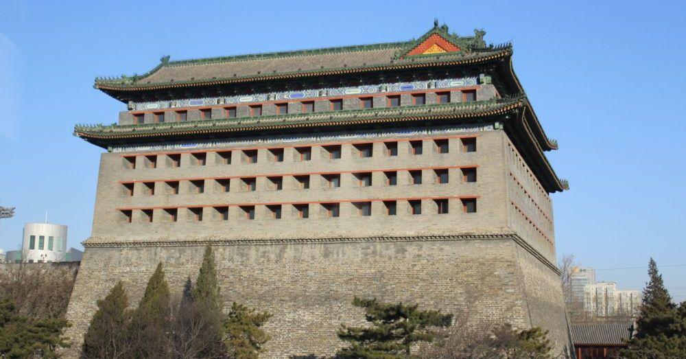 Beijing City Gatehouse