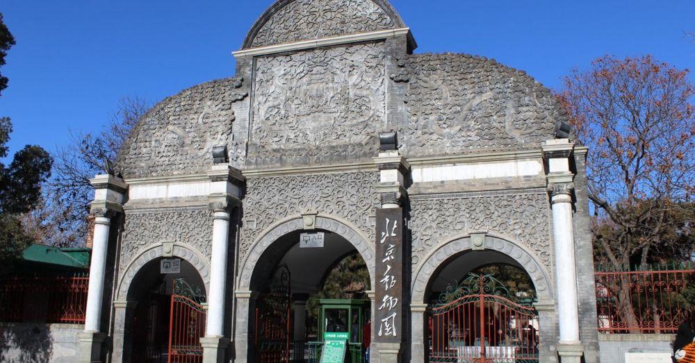 Beijing Zoo Gate