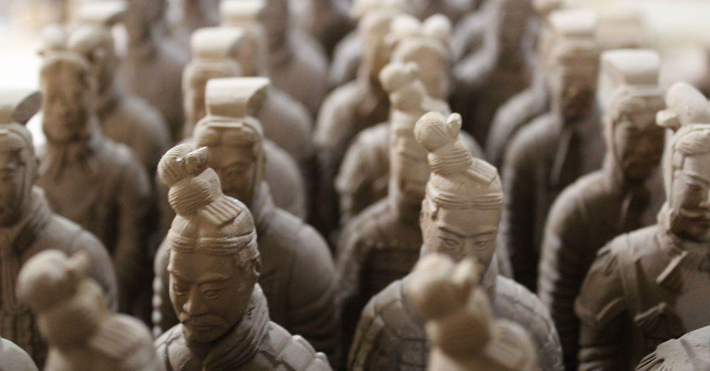 Miniature Terracotta Warriors