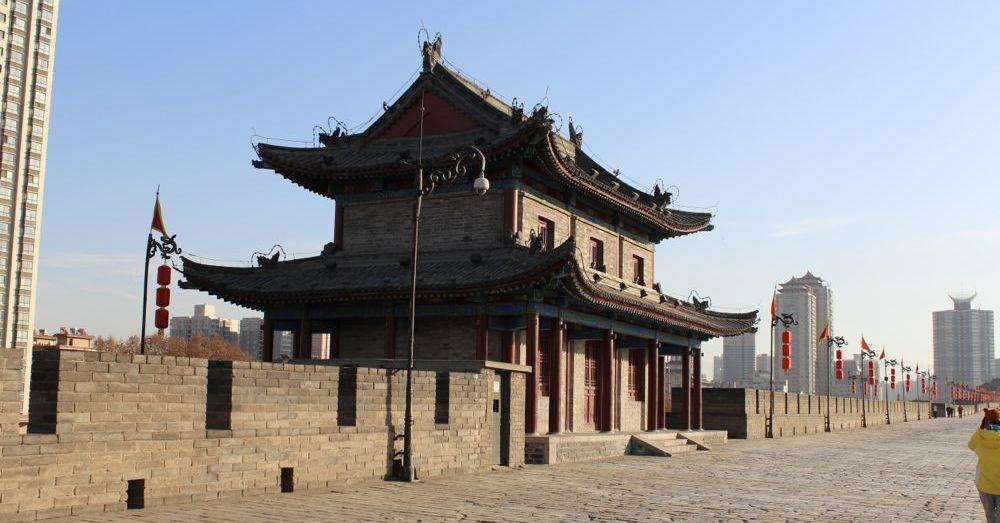 Xi'an City Wall Guard Tower